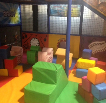 Under 4s playroom