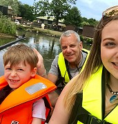 Family Fun on the Boats